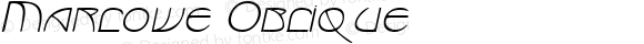 Marlowe Oblique