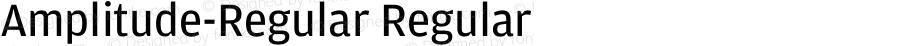Amplitude-Regular Regular 001.000