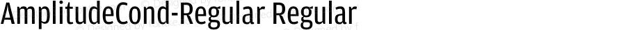 AmplitudeCond-Regular Regular 001.000
