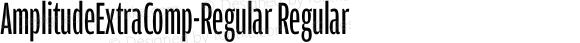 AmplitudeExtraComp-Regular Regular 001.000