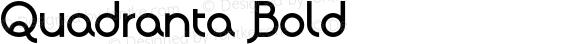 Quadranta Bold