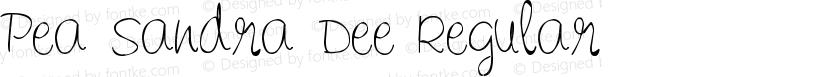 Pea Sandra Dee Regular Preview Image