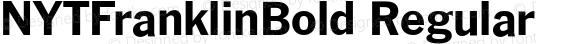 NYTFranklinBold Regular Version 001.000