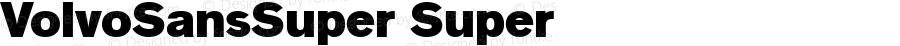 VolvoSansSuper Super 1.0 31/1/97