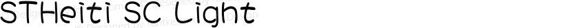 STHeiti SC Light Preview Image