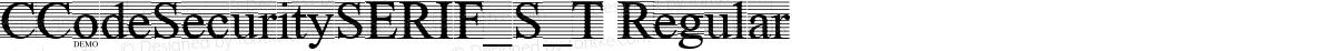 CCodeSecuritySERIF_S_T Regular