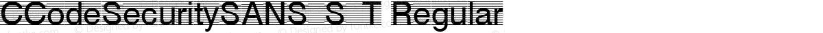 CCodeSecuritySANS_S_T Regular