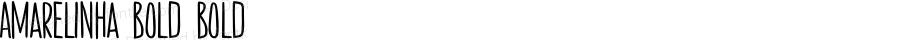 Amarelinha Bold Bold Version 001.000