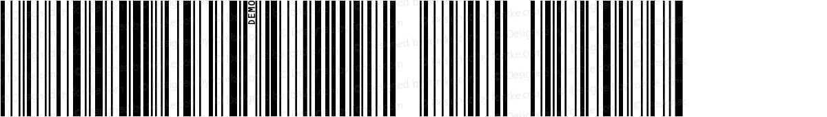 IDAutomationSC128L DEMO Regular