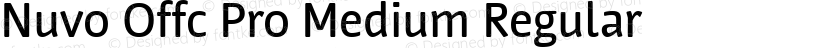 Nuvo Offc Pro Medium Regular Preview Image