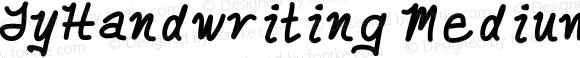 TyHandwriting Medium