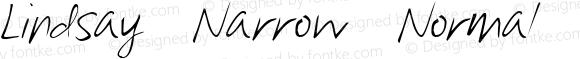 Lindsay Narrow Normal Narrow