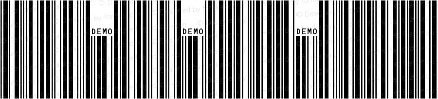 IDAutomationSC39L Regular Version 5.03 2005