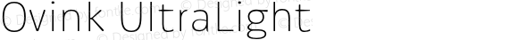 Ovink-UltraLight