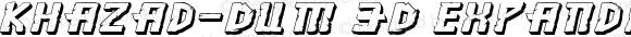 Khazad-Dum 3D Expanded Italic Expanded Italic