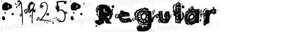 ~1925~ Regular Lanier My Font Tool for Tablet PC 1.0