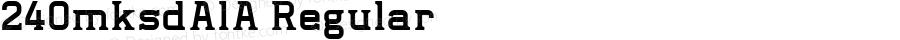 240mksdAlA Regular Macromedia Fontographer 4.1J 11.3.12