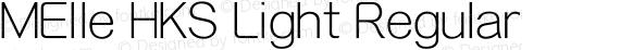 MElle HKS Light Regular preview image