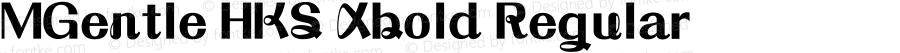 MGentle HKS Xbold Regular Version 3.0