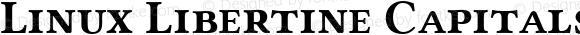 Linux Libertine Capitals Bold Small Caps Version 5.0.0