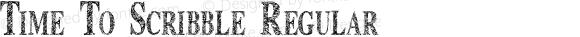 Time To Scribble Regular Version 1.2