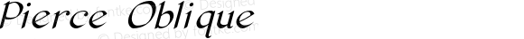 Pierce Oblique