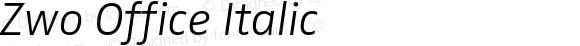 Zwo Office Italic 4.313
