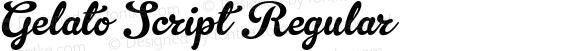 Gelato Script Regular