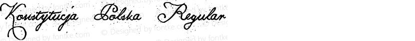 Konstytucja Polska Regular Preview Image