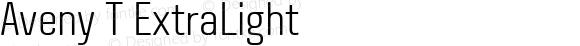 Aveny T ExtraLight