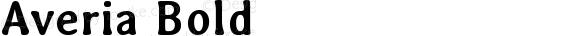 Averia Bold preview image