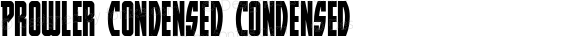 Prowler Condensed Condensed