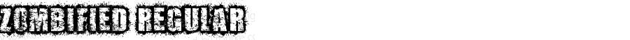 ZOMBIFIED Regular Version 1.00 December 9, 2011, initial release