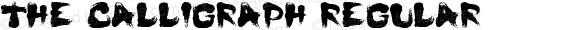 The Calligraph Regular Version 1.0