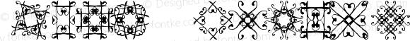 SVGfont 1 Regular Version 1.20 January 13, 2012, revision
