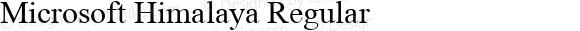 Microsoft Himalaya Regular