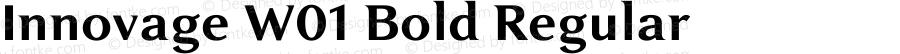 Innovage W01 Bold Regular Version 1.00