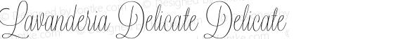 Lavanderia Delicate Delicate Version 1.100