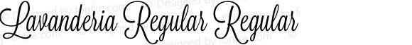 Lavanderia Regular Regular Version 1.100