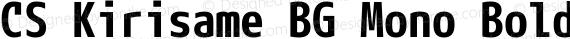 CS Kirisame BG Mono Bold preview image