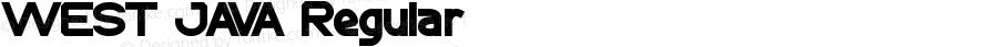 WEST JAVA Regular Version 1.00 April 17, 2012, initial release