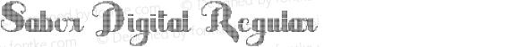 Sabor Digital Regular Version 3.005 2012