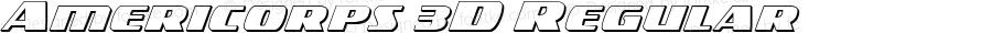 Americorps 3D Regular Version 1.0; 2012