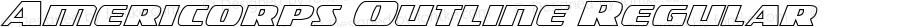 Americorps Outline Regular Version 1.0; 2012