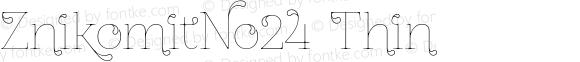 ZnikomitNo24 Thin