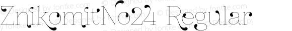ZnikomitNo24 Regular Version 0.55