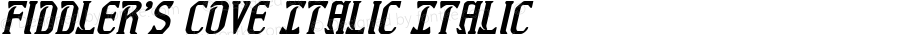 Fiddler's Cove Italic Italic Version 1.0; 2012