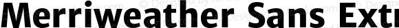 MerriweatherSans-ExtraBold