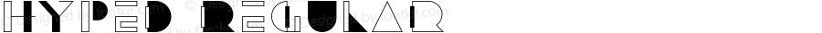 Hyped Regular Version 1.000;PS 001.001;hotconv 1.0.56