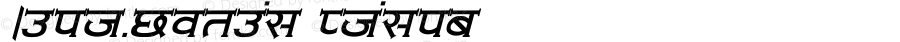 Amit-Normal Italic Converted from C:\LBFCD\LYS_FONT\AMIT-NOR.TF1 by ALLTYPE